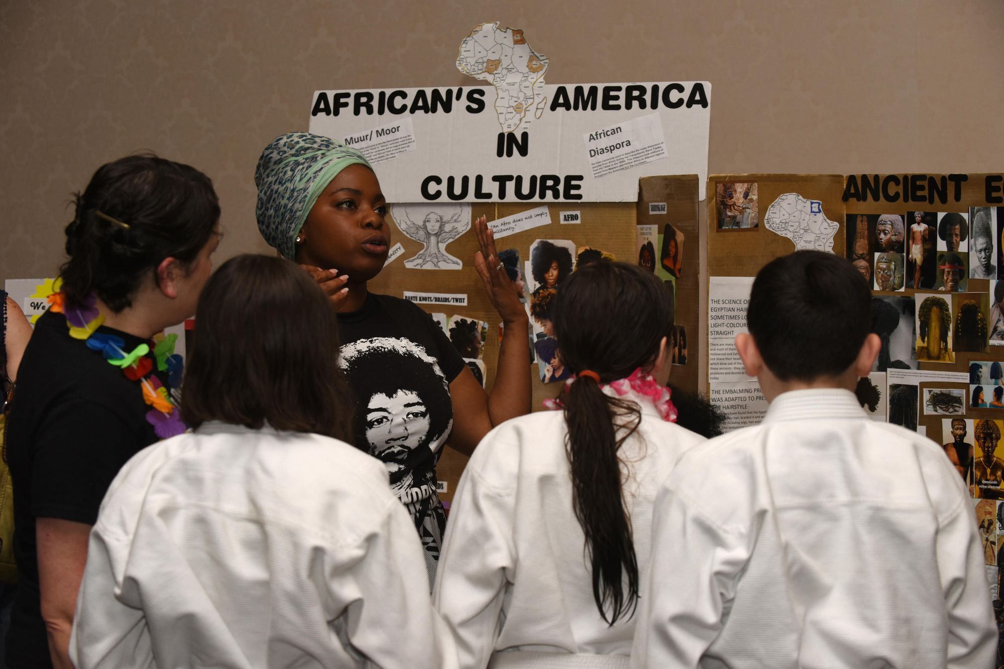 Identifying with the black and immigrant experiences in America