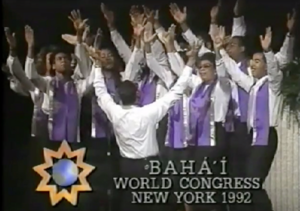 Introducing gospel music to the Baha'i community