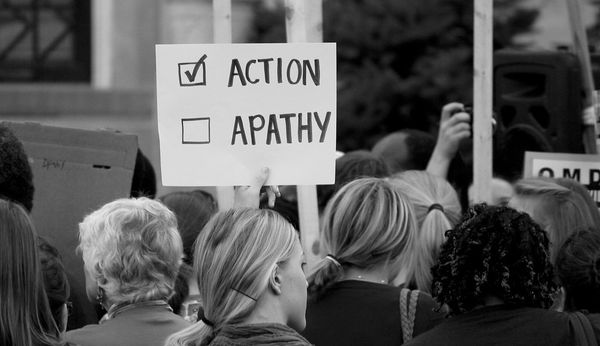 The opposite of love isn't hate - it's apathy