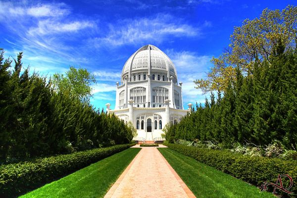 Visiting the Baha'i House of Worship